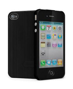 Cygnett UrbanShield for iPhone 4 + 4S + Screen Protector - Black