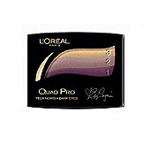 LOreal Quad Pro Eye Shadow - 331 Golden Plum