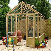 Mercia 10x8 Pressure Treated Greenhouse
