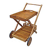Bentley Garden Wooden Portable Food & Drinks Trolley