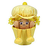 "Little Miss Muffin 9"" Little Miss Vanilla Yellow Hair And Yellow Hat"