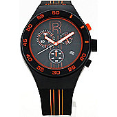 Reebok Icon Mens Silicone Alarm Chronograph Stopwatch Watch RC-IRU-G6-PBIB-BO