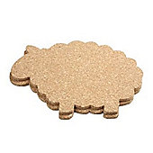 T&G Sheep Cork Mats, Set of 2