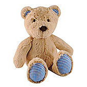 ELC Gingham Trim Teddy Bear