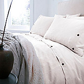 Cream Linen Housewife Pillowcase