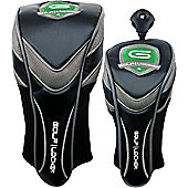 Golf Locker Mens Deluxe Golf Headcovers in Fairway Headcover