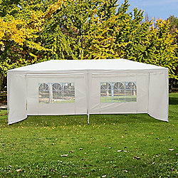 Outsunny Outdoor Garden Gazebo (White 6m x 3m)