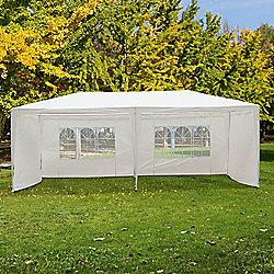 Outsunny Outdoor Garden Gazebo (White 6m x 3m)