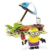 Mega Bloks Despicable Me Minions' Beach Party - 29 Pieces
