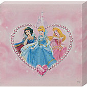 Walt Disney Disney Princess Snow White, Cinderella and Sleeping Beauty Canvas Print