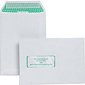 Basildon Bond Envelopes Pocket Peel and Seal Window 100gsm White C5 [Pack 500]