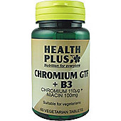 Health Plus Chromium Gtf And B3 60 Veg Tablets