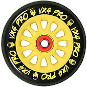 Madd Gear MGP Pro Wheel 100mm inc Bearings - Yellow/Black