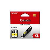 Canon CLI-551XL (Yellow) Ink Cartridge (Yield 700 Pages) XL with Security