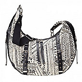 OiOi Hobo Slouch Bag (Ethnic Monochrome)