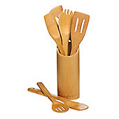 Premier Housewares 6 Piece Kitchen Tool Set with Utensils Holder