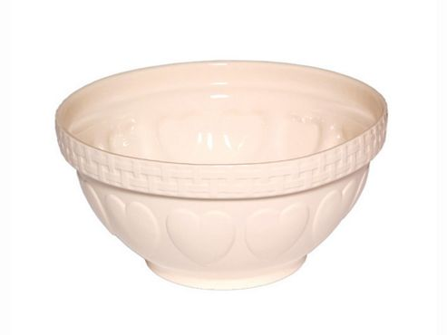 Mason Cash Heart Mixing Bowl 290Mm Cream