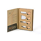 Arthur Price My Deli Set of 4 Cheese Knives