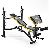 Everlast Intermediate Weight Bench with Lat Tower, Preacher Pad and Leg Developer