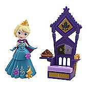 Disney Frozen Little Kingdom Elsa Doll with Throne Accessory