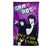 Disney Camp Rock Not For Amateur Beach Towel