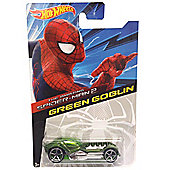 Hot Wheels Amazing Spider-Man 2 Diecast Car - Green Goblin