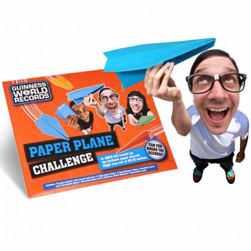 Guinness World Records Paper Plane Challenge Set