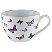 Tesco Butterflies Jumbo Mug Single