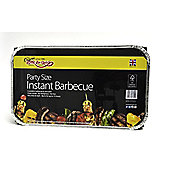 Bar-Be-Quick Party Instant Disposable Charcoal Barbecue
