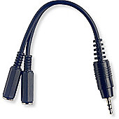 Rocket Small Mono Jack Dual Y Cable