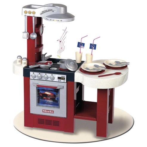 Toy Miele Red Kitchen Set Gourmet Deluxe