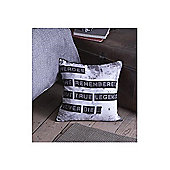Catherine Lansfield Home Photographica True Legends Multi Coloured Cushion Cover
