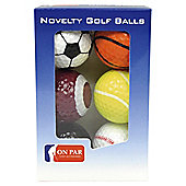 On Par Novelty Balls Golf ball