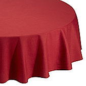 Home Creations Essentials Round Tablecloth - Plum