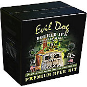 Bulldog Home brew beer kit - Evil Dog Double IPA (71% abv) - 40 pints