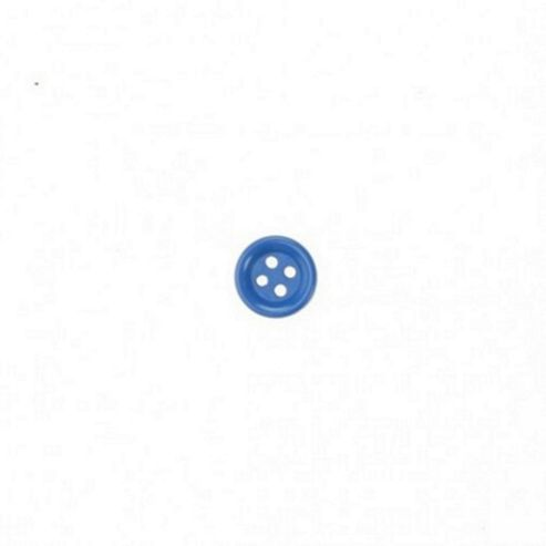 Dill Buttons 13mm Round - Royal Blue