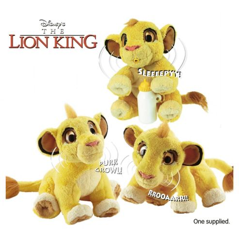 ALIVE - Lion King 6'' Plush-Assortment – Colours & Styles May Vary