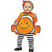 Toddler Giddy Goldfish Costume