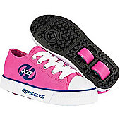Heelys Pure Fuchsia/Navy Kids Heely Shoe