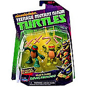 Teenage Mutant Ninja Turtles - Training Mike and Raph 2-pack