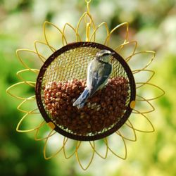Flower peanut feeder