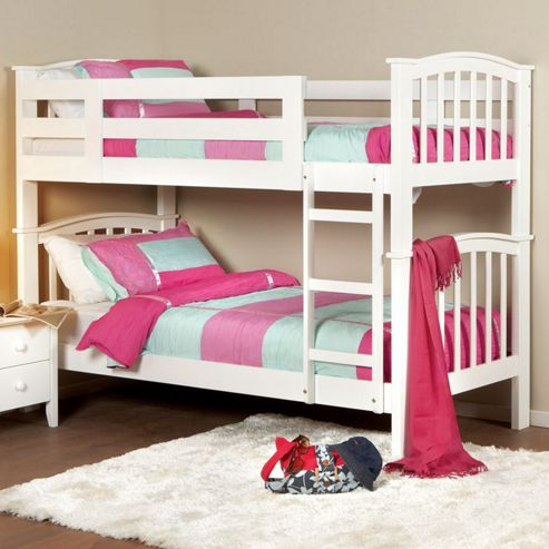 Taylor Bunk Bed - White