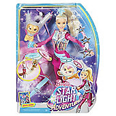 Barbie Star Light Adventure Galaxy Barbie Doll and Hover Cat