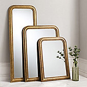 Gallery Worthington Arch Mirror - Gold - 101.6 cm H x 76.2 cm W