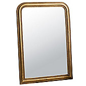 "Worthington Mirror 40 x 30"", Gold"
