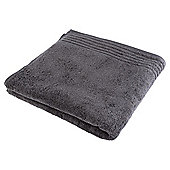 Tesco Egyptian Cotton Bath Towel, Charcoal