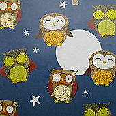 Gift Wrap - Owls