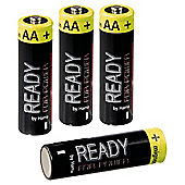 Hama Rechargeable NiMH Batteries (4 pack AA Mignon HR 6 2200 mAh)