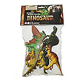 6 Dinosaurs in Small Bag