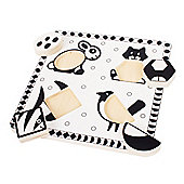 Bigjigs Toys BJ515 Pets Black and White Puzzle